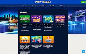 Jet Bingo 200 Free Spins