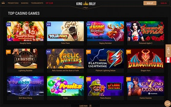 King Billy Casino Spel