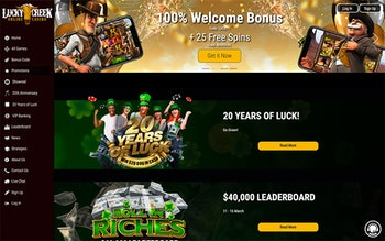 Lucky Creek Casino Bonus
