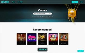 Pocket Play Casino Spel