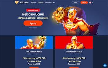 Slotman Casino Bonus