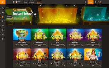 Sol Casino Bonus