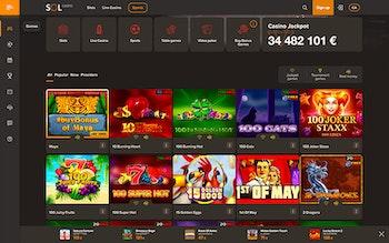 Sol Casino Spel