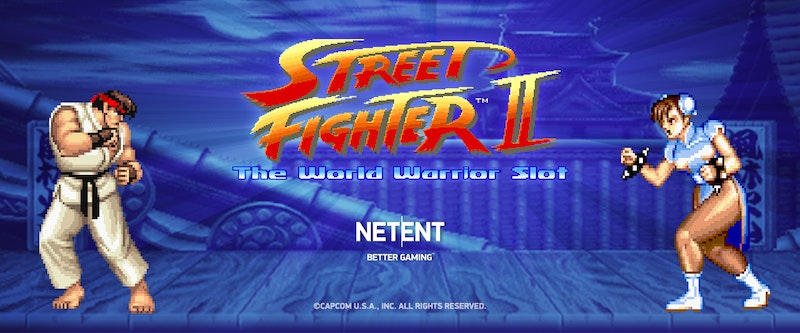 Play Street Fighter II from NetEnt
