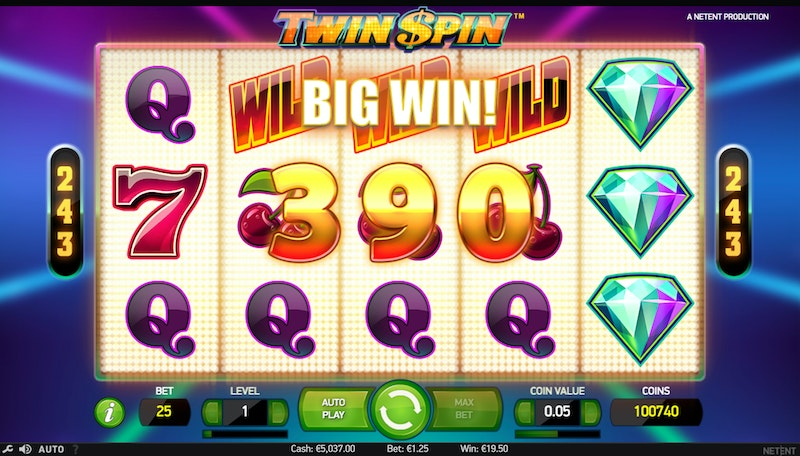 Play Twin Spin by NetEnt