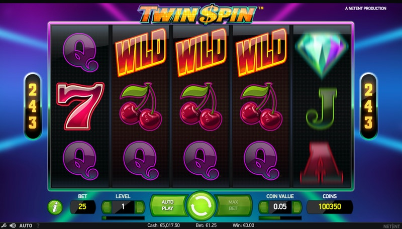 Try Twin Spin by NetEnt